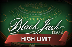 black jack classic high limit