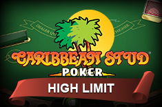 caribbean stud poker high limit