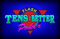 Tens or better power poker