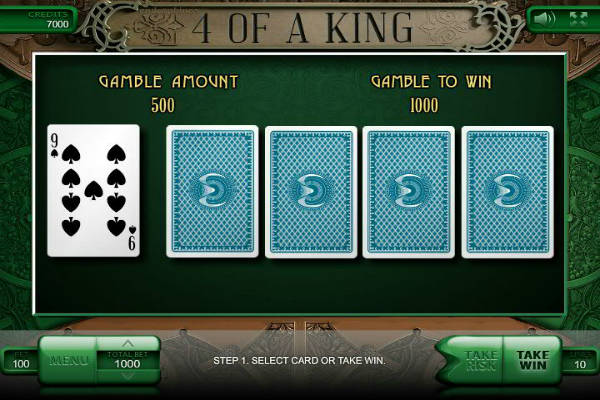 4 of a king video slot