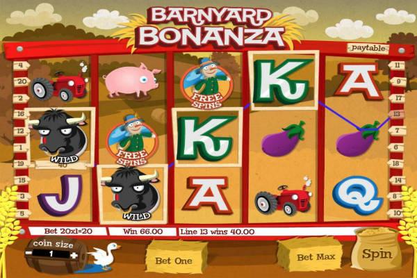 barnyard bonanza im casino Playfortuna