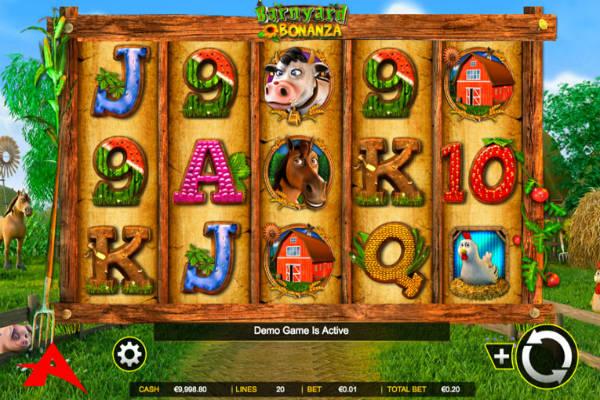 barnyard bonanza online spielen