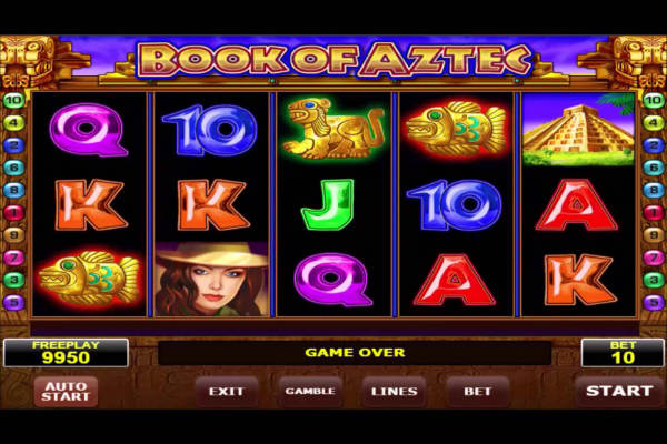 Book of Aztec im casino Playfortuna