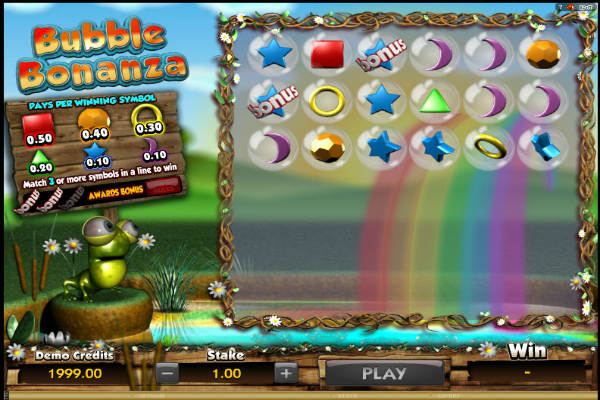 bubble bonanza video slot