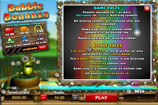 bubble bonanza kostenlos spielen