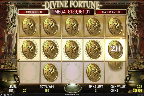 divine fortune freispiele