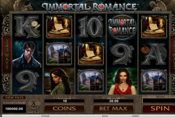 immortal romance online spielen