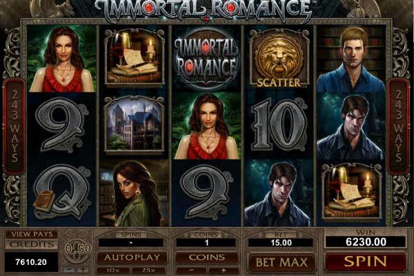Immortal Romance Online Spielautomat