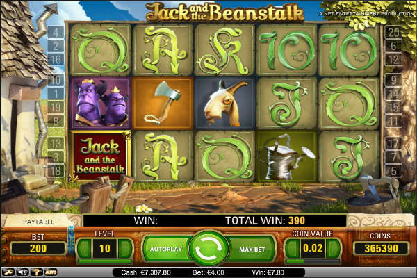 Jack and the Beanstalk spielautomaten