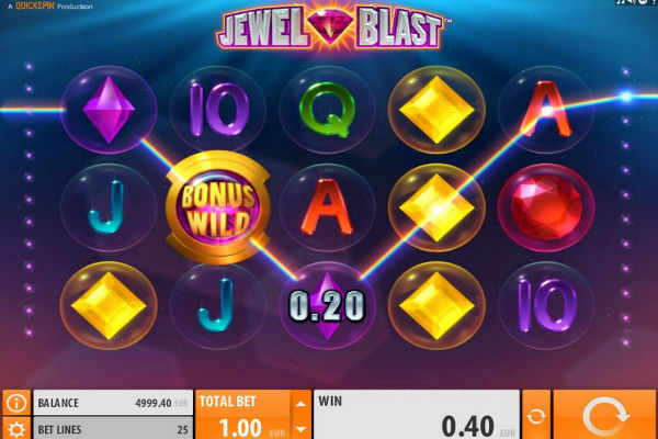 Jewel Blast im casino Playfortuna