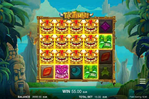 Tiki Tumble im Casino Playfortuna