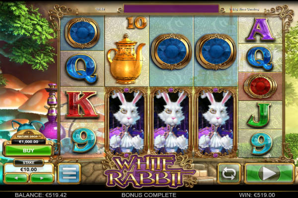 white rabbit im casino Playfortuna