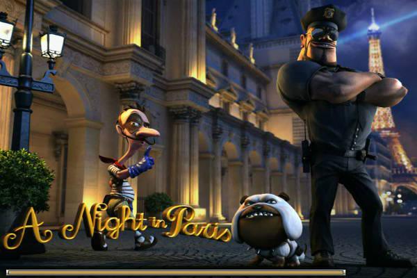 Screenshots des Night in Paris Spielautomat