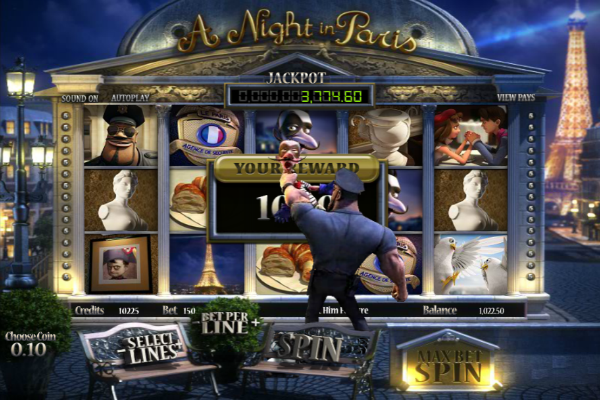 a night in paris spielautomat