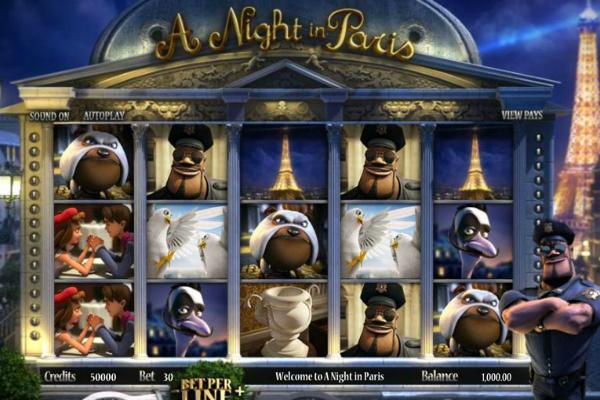 A Night in Paris kostenlos