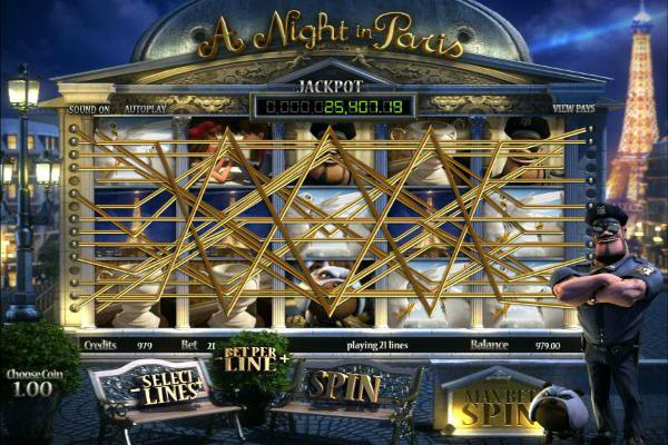 Night in Paris wie man spielt