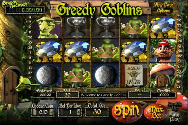 greedy goblins kostenlos spielen