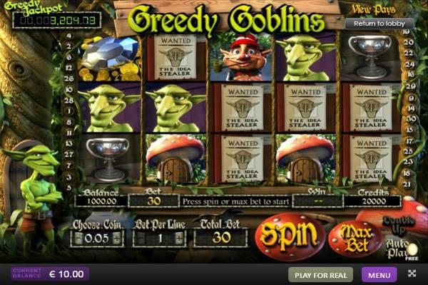 Greedy Goblins im Playfortuna casino