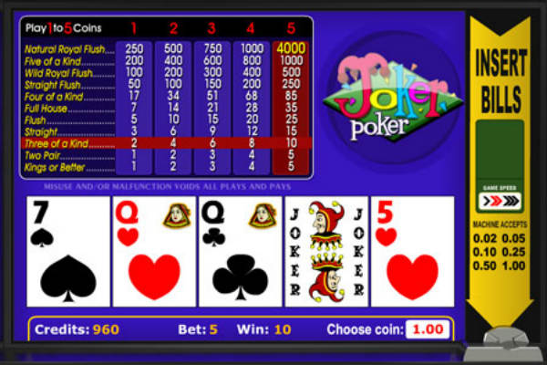joker poker betsoft gaming
