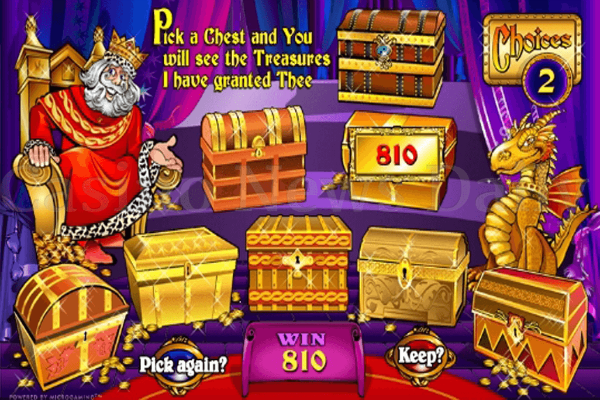 King Cashalot Spielautomat