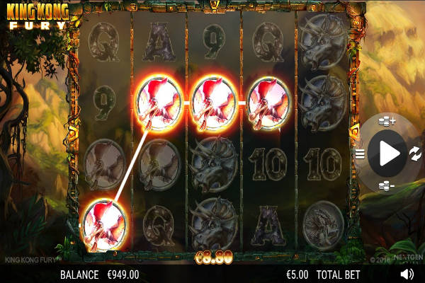 king kong fury slot free play