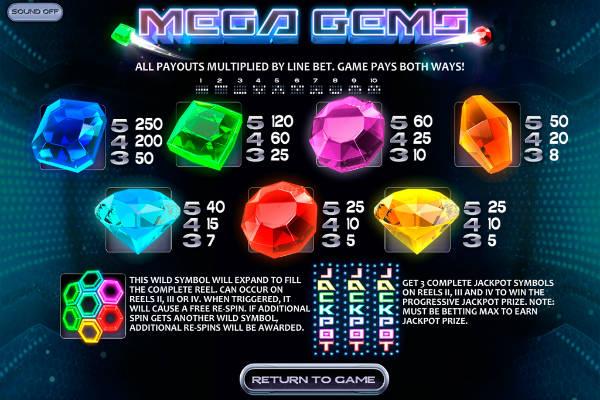 mega gems kostenlos spielen