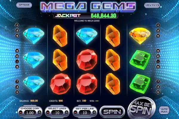 Mega Gems Spielautomat