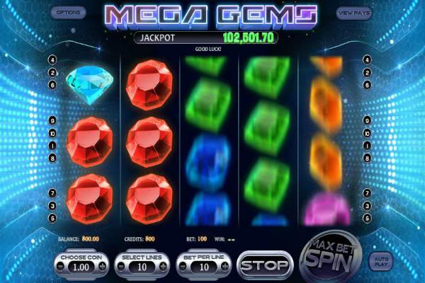 Mega Gems um Echtgeld spielen