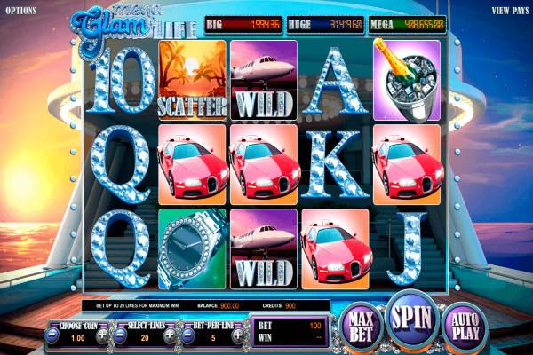 mega Glam Life Bonus & Scatter & Wild