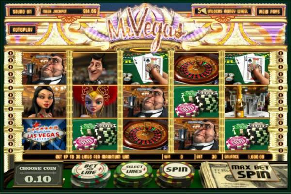 3D Slot Mr Vegas