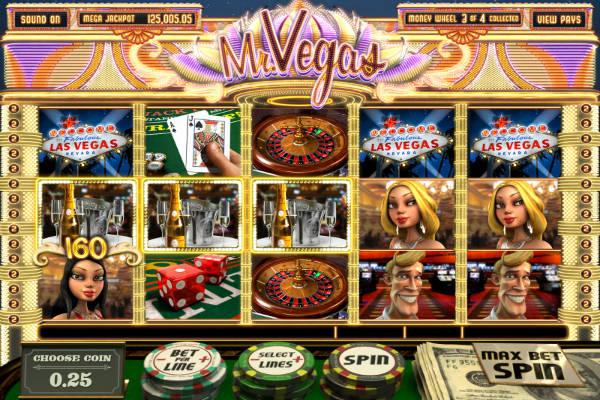 3D слот Mr Vegas online