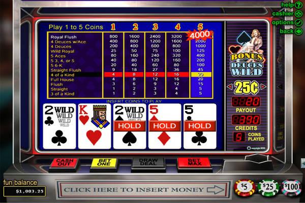 Multihand Poker: Bonus Deluxe kostenlos spielen