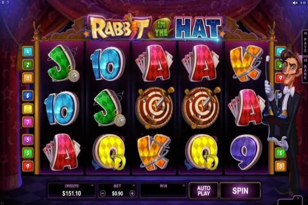 rabbit in the hat online slot