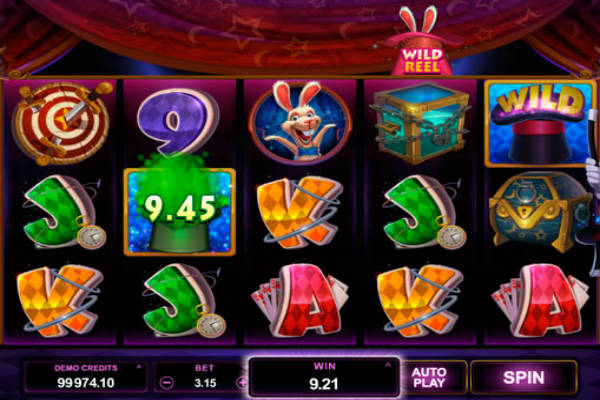 Slot rabbit in the hat im casino Playfortuna