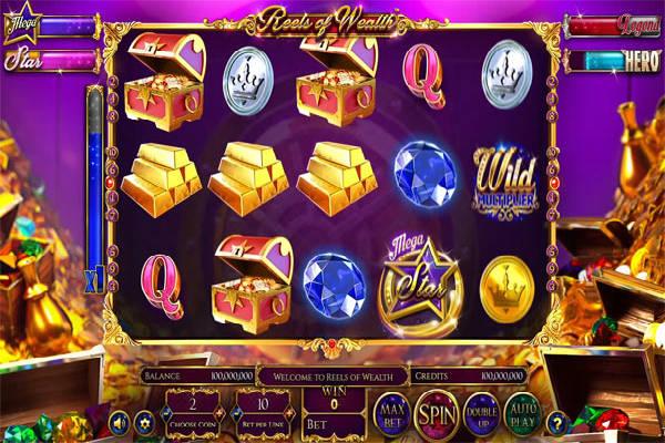 Reels of Wealth spielen