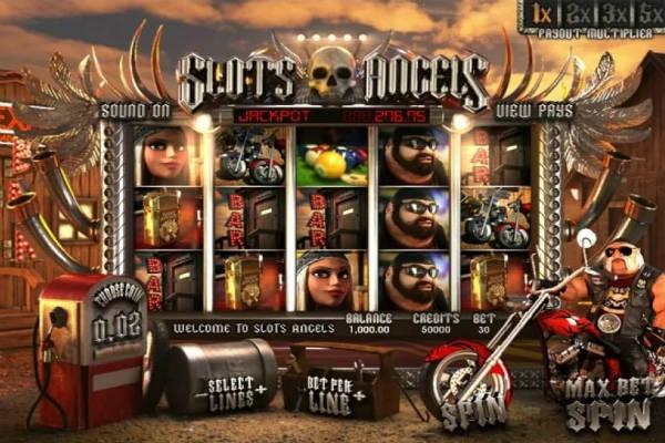 Slots Angels spielen
