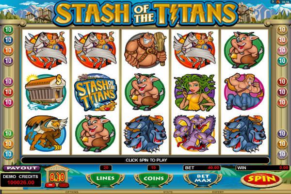 stash of the titans im Casino Playfortuna