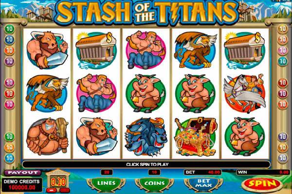 stash of the titans video slot