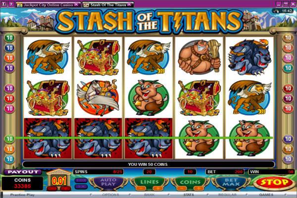 stash of the titans kostenlos spielen
