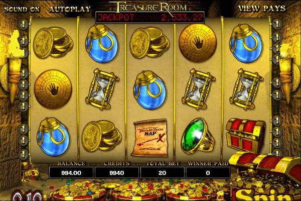 treasure room im casino Playfortuna
