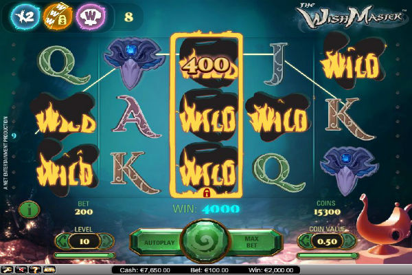 the wish master casino Playfortuna