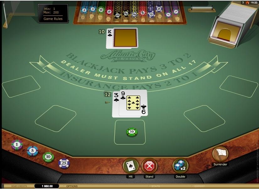 Atlantic City Blackjack Gold Series Online