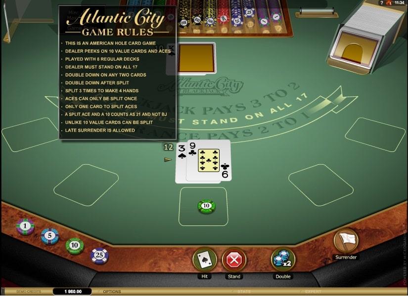 Atlantic City Blackjack Gold Series Spielautomat