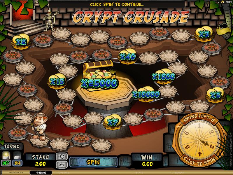 Crypt Crusade spielen