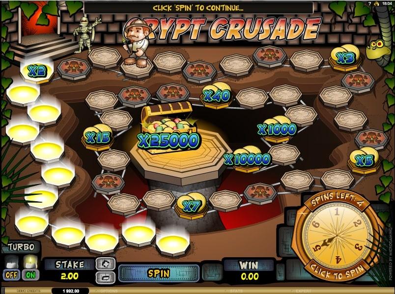 Crypt Crusade Spielautomat