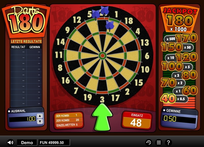 Darts Online Spielautomat