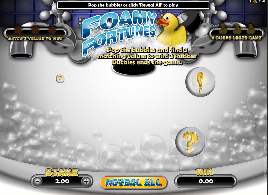 Foamy Fortunes spielen