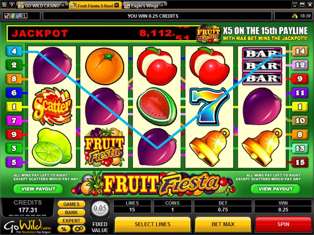 Fruit Fiesta 5 Reels spielen