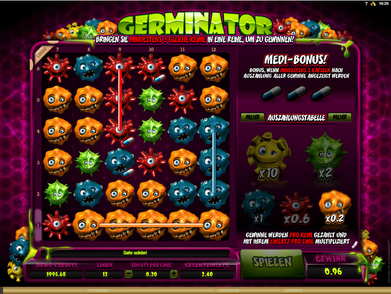 Germinator spielen