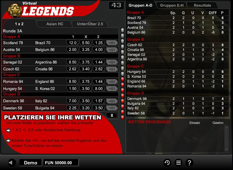 Virtual Legends Spielen